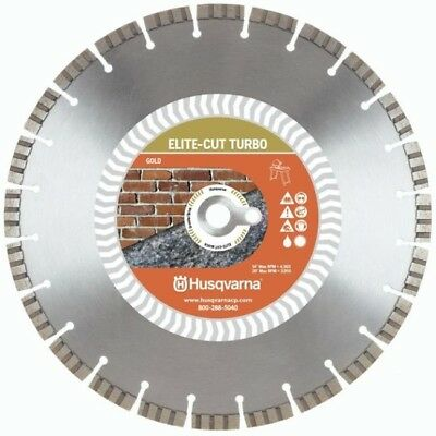 Husqvarna Elite Cut 14-inch Turbo Masonary Saw Diamond Blade