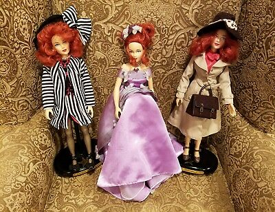 BRENDA STARR 1998 EFFANBEE Colectibile Dolls Set of 3