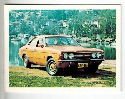 Sanitarium Weetbix - Cars of the Seventies (1975) - Card #3 Ford Cortina XLE