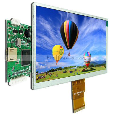 "Raspberry PI 7"" inch TFT LCD Display w/HDMI Driver/Controller Board 1024X600"