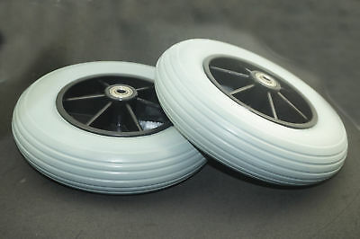 """1 pair 8"""" Electric Drive Wheelchair Wheel Chair Tyre,Front Wheel & solid Tyre"""