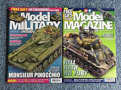 Tamiya Model Magazine + Model Military - July 2016