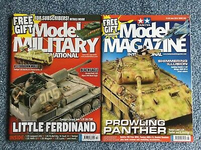 Tamiya Model Magazine + Model Military - June 2016