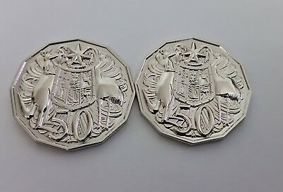 50c Fifty Cents 1967 & 1968 Australian pair ULTIMATE FANTASY / SPACE FILLERS