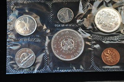 """1964 Canada Silver Royal Mint Proof Like Original 6 Coin Set """"With Mint Luster"""""""