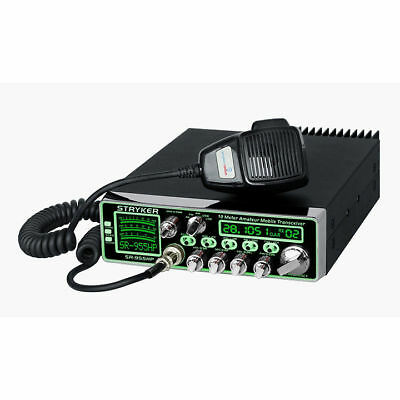 Stryker SR-955HPC 10 Meter Amateur Radio 70+ Watts Pep 7-Color Display Dimmer Co