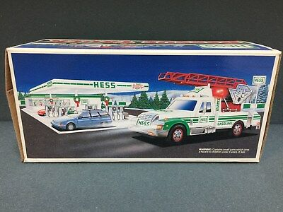 NEW 1994 HESS Toy Truck Rescue Truck  FREE SHIPPING