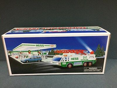 NEW 1996 HESS Toy Truck Emergency Truck  FREE SHIPPING
