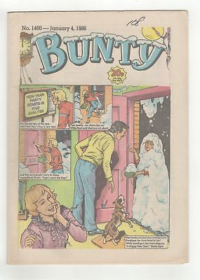 Bunty Comic - No 1460 - 4th Jan 1986  -  CHRISTMAS/NEW YEAR ISSUE - LOVELY COPY!