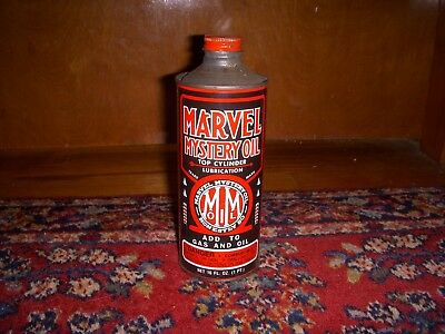 Vintage Marvel Mystery Oil Can Advertising