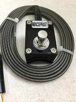 custom tattoo foot switch stomp box  CONTINUOUS LATCHING