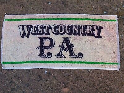 West Country Pale Ale Whitbread  Beer towel from 1970s