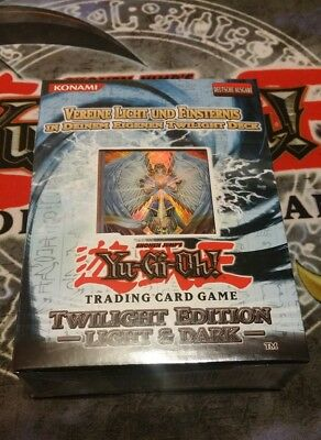 Yu-Gi-Oh Twilight Edition Light and Dark, Special Edition, OVP, Deutsch, Booster