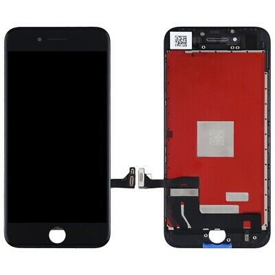 For Apple iPhone 8 LCD Display Screen Touch Digitizer Frame Unit Assembly Black