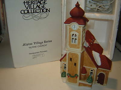 Dept 56 Alpine Village - Alpine Church