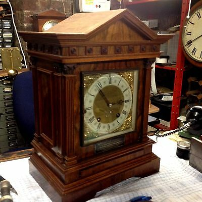 Lenzkirch TING TANG Bracket Clock..excellent condition.