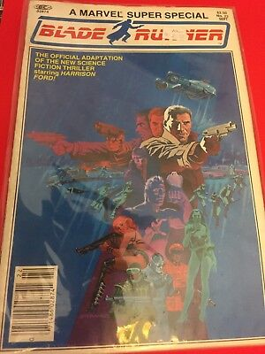Marvel Super Special #22 Blade Runner 1982 Official Movie Adaption Harrison Ford