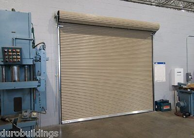 DuroSTEEL JANUS 20'W x 12'T Insulated Wind Rated 3100i Series Rollup DOOR DiRECT