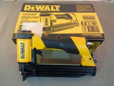 Dewalt DW45OS2 16 Gauge Wide Crown Lathing Stapler in Original Box