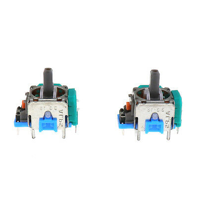2Pcs 3D Controller Joystick Analog Repair Replacement Switch For PS4 playstation