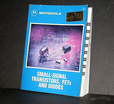 Motorola Small Signal Transistors, FETs and Diodes Databook 1989