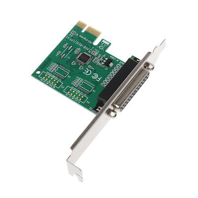 25Pin Parallel Port DB25 LPT Printer To PCI E Express Card Converter Adapter