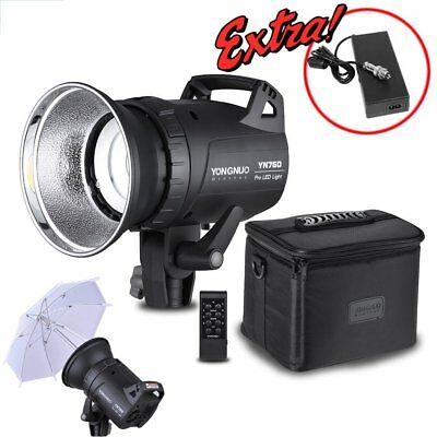 YONGNUO YN760 Portable LED Studio Video Camcorder Light Lamp 5500K & Adapter AU