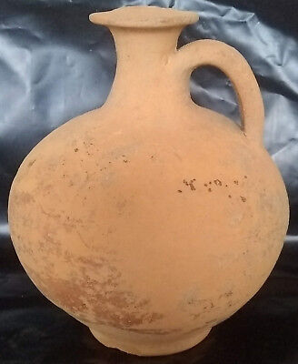 Original ancient Roman ceramic vessel artifact/Jug/Vase/pottery Kylix guttus 3AD