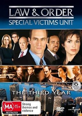Law and Order: Special Victims Unit - Season 3 - DVD Region 2 Free Shipping!