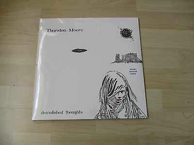 Thurston Moore Demolished Thoughts 2 Lps Blue Vinyl New Sonic Youth