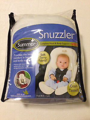 Summer Infant Snuzzler Complete Head and Body Support Carseat & Stroller Insert