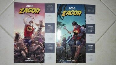 Zagor Calendario 2016 Epicenter Comics