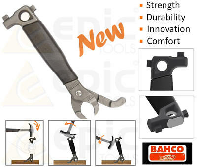 """BAHCO 8"""" 200mm Wood/Wooden/Timber Floorboard Nail Puller/Lifter/Remover/Pry 36"""