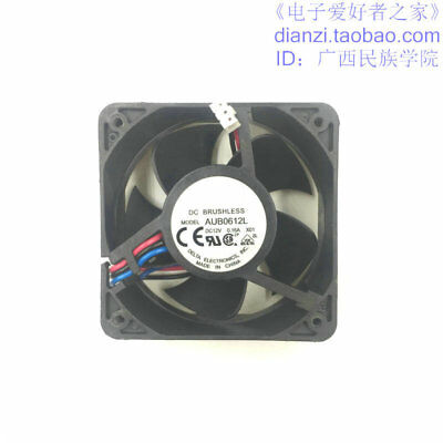 silent quiet cooling fans  3wire 12V 0.16A AUB0612L 60*25MM