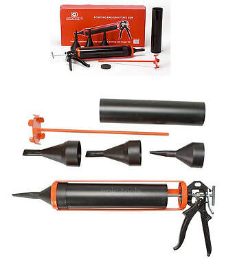 CONCEPT Cement Mortar Pointing Pointer Grouting Joint Brick Slab Tool,FULL Kit
