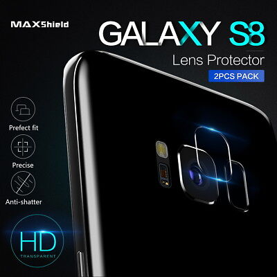 For Samsung Galaxy S8 S9 Plus Note 9 8 Back Camera Lens Tempered Glass Protector