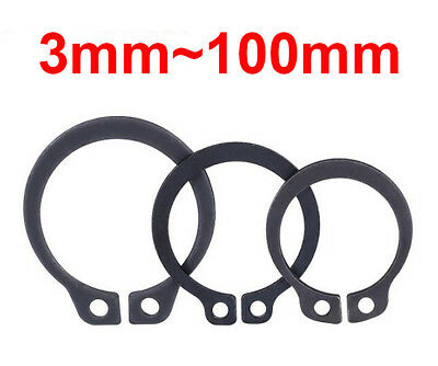 5/10pcs External Circlip DIN471 C Clip 3mm to 100mm Various Sizes High Quality