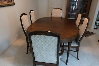 7 Piece 1. Table and 6. Chairs