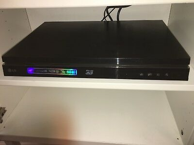 Twin HD Recorder & 3D Blu-Ray Player with 500GB Internal Hard Drive - LG brand