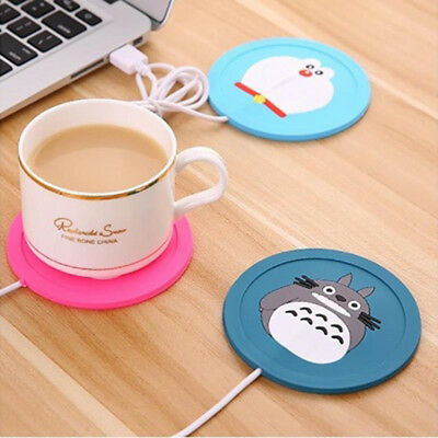 Hot USB Power Suply Office Tea Coffee Cup Mug Warmer Heating Cup Mat Pad Coaster