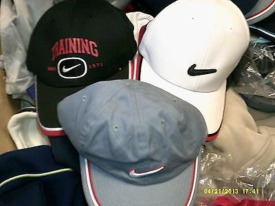 NIKE BASEBALL CAP youthsHAT EMBROIDED AT £5 each  BNWL cotton
