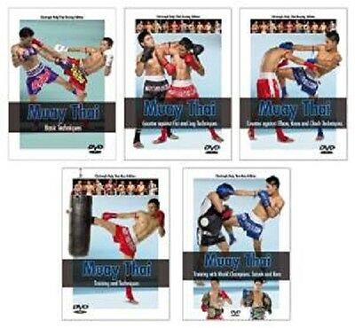 Muay Thai: The Complete Series 5 dvd set SAIYOK KEM fairtex sandee