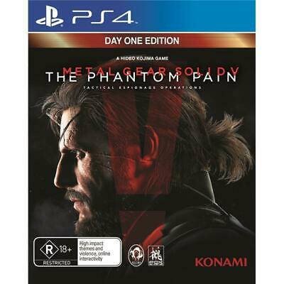Metal Gear Solid V The Phantom Pain game PS4 AUSSIE *Day 1 One Edition *NEW disc