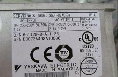 Yaskawa SGDH-02AE-OY Servo Drives Tested 1PCS Used