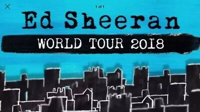 Ed Sheeran  - Wembley - 2 Tickets