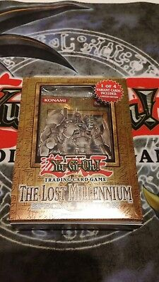 Yu-Gi-Oh The Lost Millennium, Special Edition, OVP,  Englisch, Booster, TLM