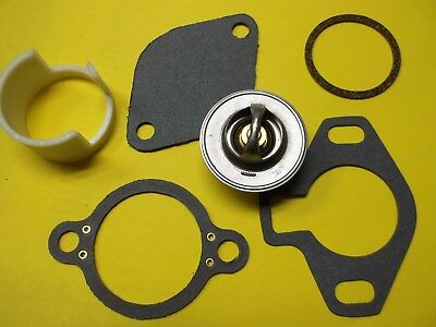 Mercruiser Thermostat Kit 807252Q5 gaskets Sleeve 23-806922 4.3 5.0 5.7