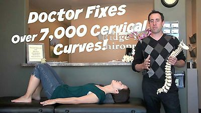 Cervical Curve Correction Block | Fixes Straight Or Reversed Curve