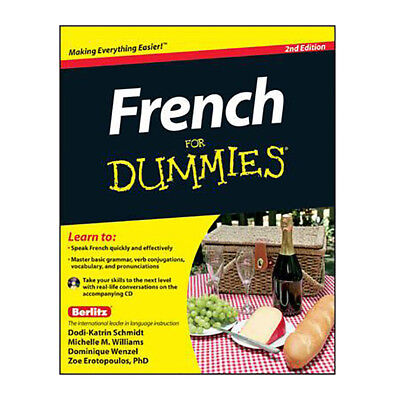 French For Dummies 2nd Edition Book With CD By Dodi-Katrin Schmidt Paperback