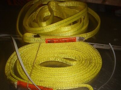"1  NEW  lifting  LIFT ALL STRAPS  1"" X 12'  LIFTALL   free shipping"